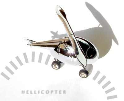 TROIKA(トロイカ) Hellicopter(ヘリコプター) 文具3点セット