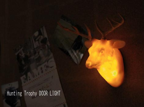 Hunting Trophy DOOR LIGHT(ハンティングトロフィー ドアライト)