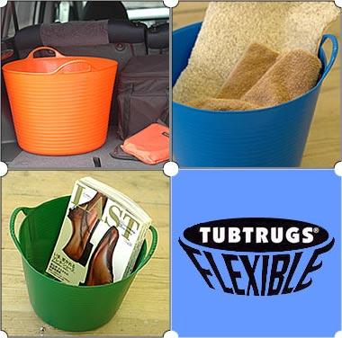 ゴム製バケツ・TUBTRUGS(タブトラッグス)