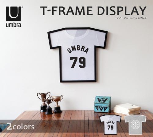 Tシャツやユニフォームのディスプレイ専用ケース T-FRAME DISPLAY