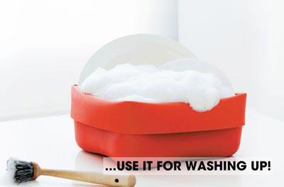 normann COPENHAGEN(ノーマンコペンハーゲン)Washing-up Bowl and Brush(ウォッシングアップ ボウル&ブラシ)