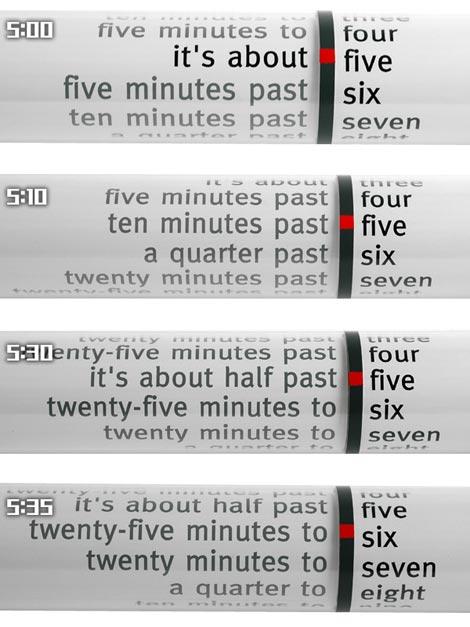 NEXTIME(ネクスタイム)「Word Clock(ワードクロック)」