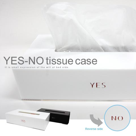 YES NO tissue case(イエスノー ティッシュケース)