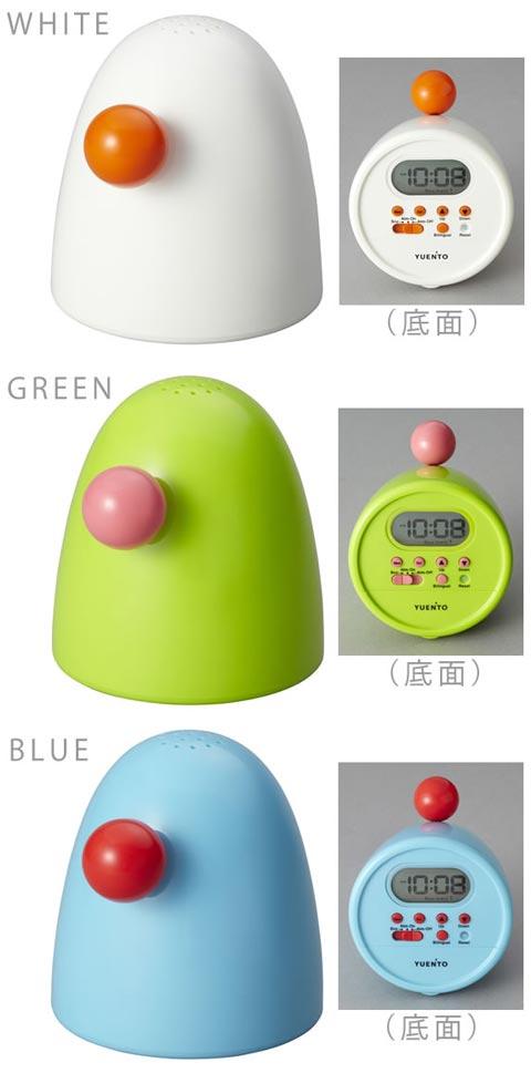 YUEN'TO(ユエント)「Good Egg Talking Clock(グッドエッグトーキングクロック)」