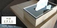 アクリル+ウッド エレガントなティッシュケース Dix/W tissuebox