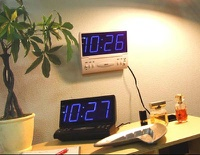2way LED Clock