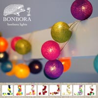 20個のボールが繋がった癒しのインテリア照明 BONBORA Light Box