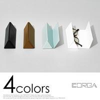 洗練されたデザインの三角形メガネケース CORGA GLASSES CASE