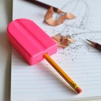 鉛筆をアイスの棒に見立てたアイスキャンディー型鉛筆削り Ice Pop Pencil Sharpener