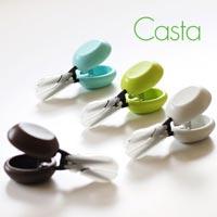 カスタネット+はさみ 切るたびに音が響く安全なはさみ HARAC CASTA