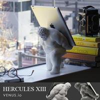 ヘラクレスがタブレットを背負う 芸術的なタブレットスタンド HERCULES XIII