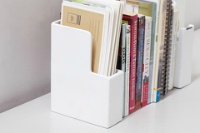ideaco bookend + letter holder