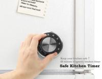 kikkerland Safe Kitchen Timer