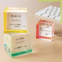「言葉」を「箱」に入れて贈る メッセージカード的な箱 コトバコ