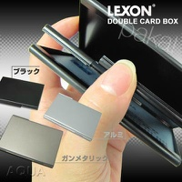LEXON DOUBLE CARD BOX
