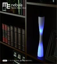 水時計をLEDで表現した「光の水時計」 METAPHYS nebula