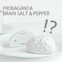 右脳にコショウ、左脳に塩。Propaganda BRAIN SALT&PEPPER