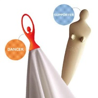 propaganda swan hand towel hanger