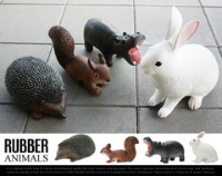 PUEBCO RUBBER ANIMALS