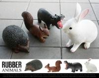 PUEBCO RUBBER ANIMALS