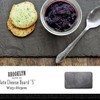 岩の風合いが美しいプレート Brooklyn Slate Slate Cheese Board