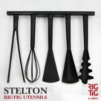 スタイリッシュで使い勝手のよいキッチンツールセット Stelton UTENSILS