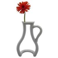 花瓶の輪郭