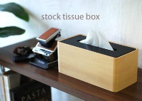 STOCK TISSUE BOX
