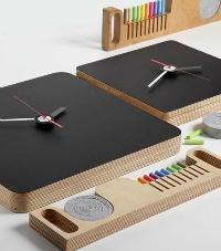 自分でデザインできる黒板仕様の掛け時計 TABLA