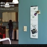 ガラストップのスマートな週間ホワイトボード Dry-Erase White Boards
