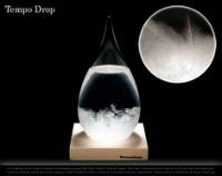 天候次第で様々な結晶のカタチが見れるオブジェ Tempo Drop
