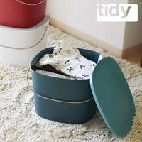 シックなカラーリングの多目的バケツ tidy Bucket