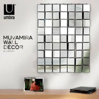 風に揺らめくミラー umbra MUVAMIRA WALL DECOR