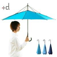 反対側に閉まる画期的な傘 h concept Unbrella