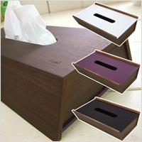 両面使える板チョコのようなティッシュケース ヤマト工芸 choco block